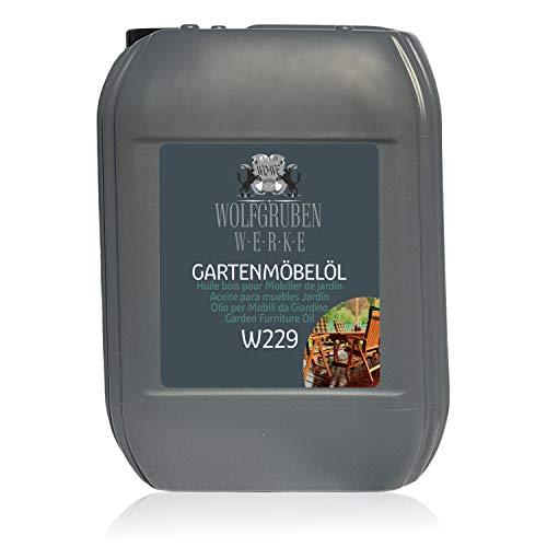 Aceite para muebles Jardín Terraza Protección y Cuidado de Madera W229-5L