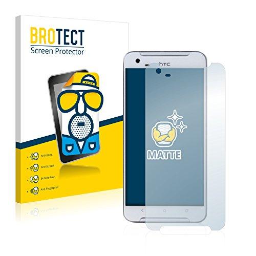 BROTECT 2X Entspiegelungs-Schutzfolie kompatibel mit HTC One X9 Bildschirmschutz-Folie Matt, Anti-Reflex, Anti-Fingerprint