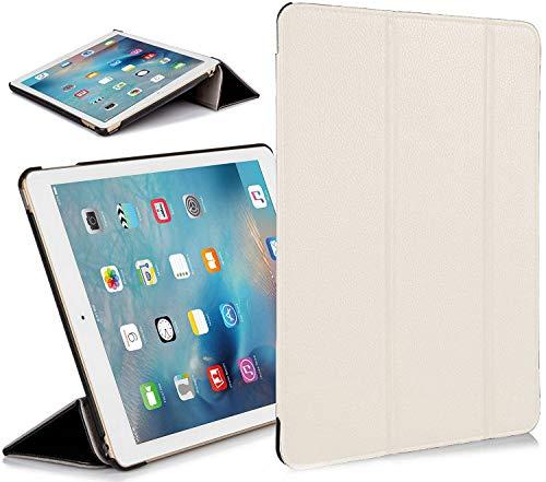 Forefront Cases Cover per Apple iPad Air 2 2a Generazione Custodia Caso Case Cover Pieghevole - Sottile Leggero, Protezione Completa e Smart Auto Sveglia Sonno Funzione - Bianco