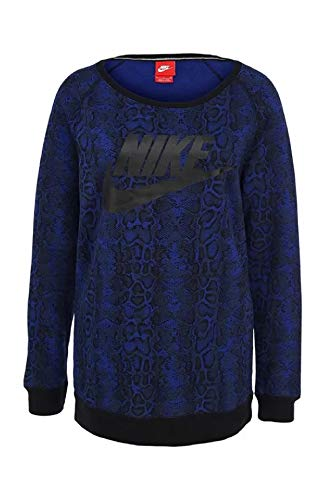 Nike - Sudadera col 455 683808 azul/negro L