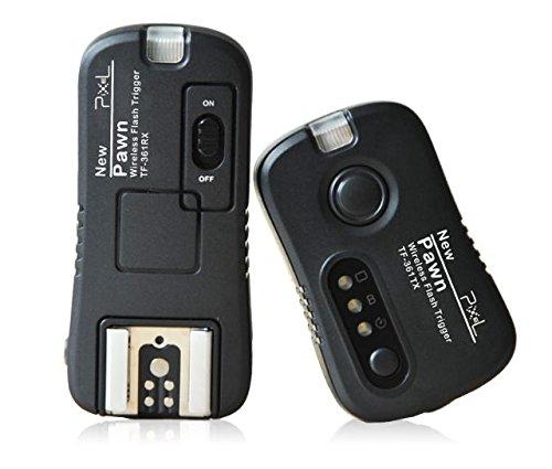 Pixel TF-361 - Mando a Distancia para cámaras Digitales Canon EOS, Negro