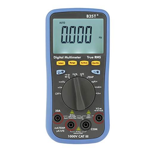 Emoshayoga Multimetro Volt Ohm Meter Voltmetro Amperometro Ohmmetro per la casa