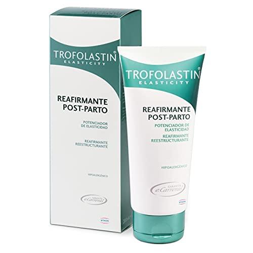Trofolastin - Crema Reafirmante Post Parto, Reafirmante y Reestructurante - 200 ml, Blanco