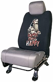 Phil Robertson Happy Happy Happy Character TV Show Series A&E Duck Dynasty Max-4 Camo Car Truck SUV Low Back Seat Cover Sleeve - SINGLE