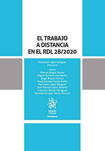 El Trabajo a distancia en el RDL 28/2020 (Reformas)