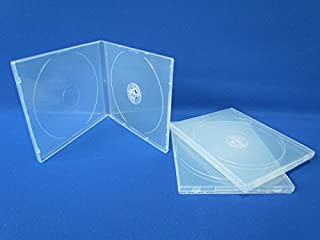 10 fundas transparentes Flexi para CD/DVD a prueba de roturas, 10,4 mm, marca Dragon Trading