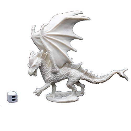 Reaper 77026: Young Fire Dragon - Dark Heaven Legends Bones Miniature