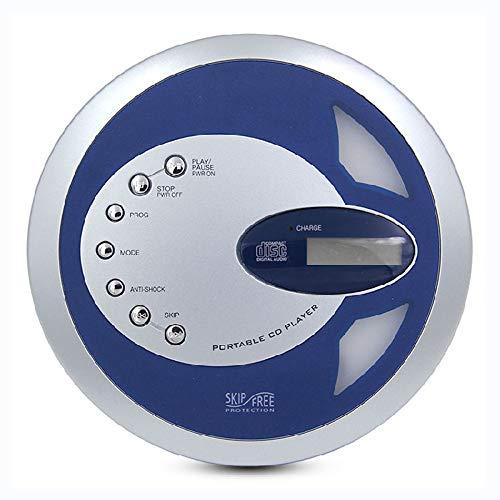 HHHKD Retro draagbare cd-speler, persoonlijke muziekspeler met track programmeerbaar geheugen, CD Walkman met hoofdtelefoon LCD-display het beste cadeau voor kinderen