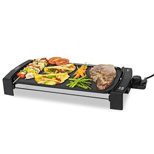 Cecotec Black&Water 2500 – Plancha eléctrica de cocina potente