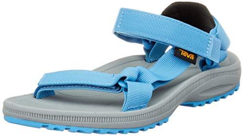 Teva Damen W Winsted Solid Hohe Sneaker, Blu Ceramic Blue, 40 EU