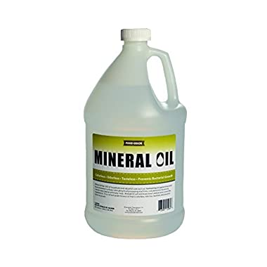 Premium 100% Pure Food Grade Mineral Oil USP, 1 Gallon, NSF Approved, Butcher Block and Cutting Board Oil