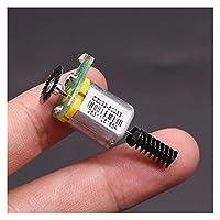ステッパーモーター N20マイクロモーターDC 12V-24V 40mA-55mA 15mmモーター、エンコーダーDIYアクセサリーの追加に適したワーム
