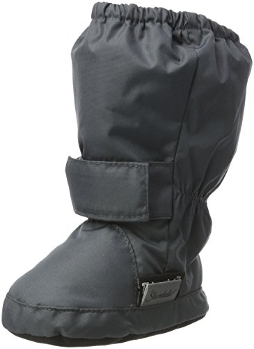 Sterntaler Jungen Baby Stiefel mit Klettverschluss, Farbe: Eisengrau, Größe: 21/22, Alter: 18-24 Monate, Artikel-Nr.: 5101510