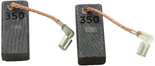 Escobillas de Carbón para MAKITA HM0870C martillo - 6,5x11x25mm - 2.4x4.3x9.8'' - Con dispositivo de desconexión