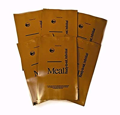 Military Surplus Unused Empty MRE Brown Bags