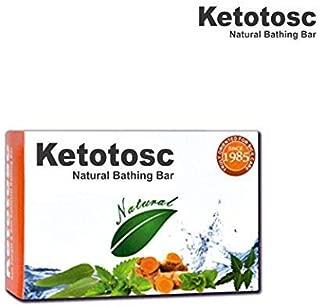 Ketotosc Antifungal & Antibacterial Bathing Bar, 75g (Pack of 8)