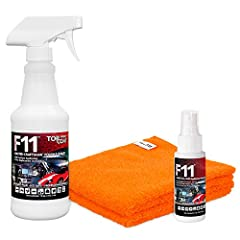 ✔️TOPCOAT F11 POLISH & SEALER is MADE IN AMERICA🇺🇸 and is designed to replace, out-perform, and out-last any other traditional cleaning, sealing, and polishing product! This kit consists of (1) 16oz. Spray, (1) 2oz. Travel Size TopCoat F11 Polish & S...
