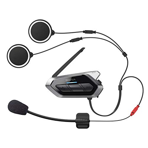 Sena 50R Flaches Motorrad Bluetooth Kommunikationssystem mit Mesh 2.0, Doppelpack - 2