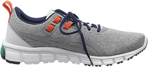 Asics Herren Gel-Quantum 90 Running Shoe, Piedmont Grey/Sheet Rock, 45 EU