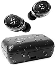 Duet 50 Pro – Sweatproof Wireless Bluetooth Earbuds. 130 Hour Long Battery Life for iPhone, Android. Phone Charger Mini Power Bank Case, TWS Headphones with Microphone, Bass for Running