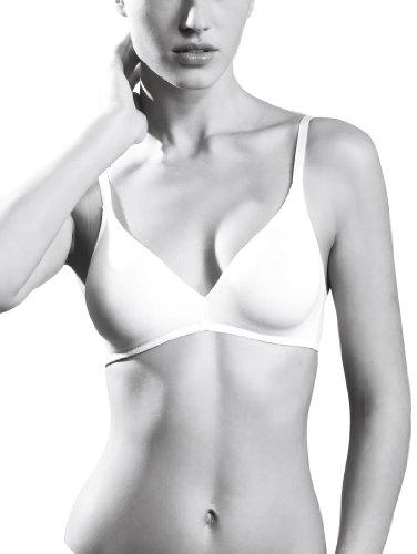 CALIDA Damen Soft Comfort BH, Weiß (Weiss 001), (Herstellergröße: 85B)