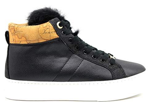 Alviero Martini 1a Classe P3A4 1000280208X550 Nero Sneakers Polacchine Scarpe Donna (37, Nero)