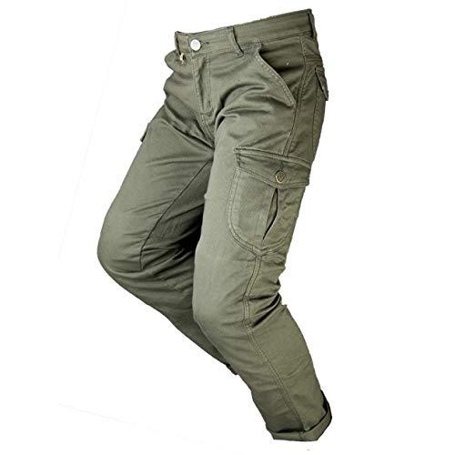 BY CITY - Pantalón Moto con protecciones MIXED II Man (US.36/EUR.46)