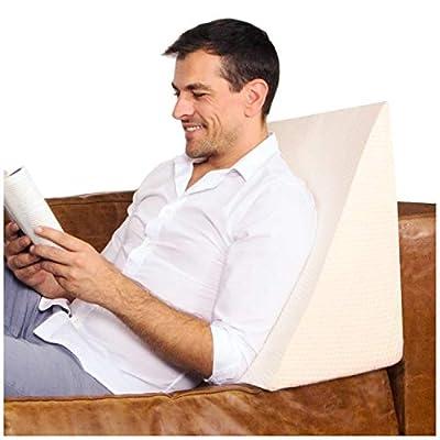 Estas almohadas terapéuticas están diseñadas para garantizar comodidad. Son suaves y flexibles, y te encantarán tan pronto descubras su increíble estructura y estabilidad. Este cojín con respaldo ofrece apoyo a la zona lumbar y cervical. Además, si q...