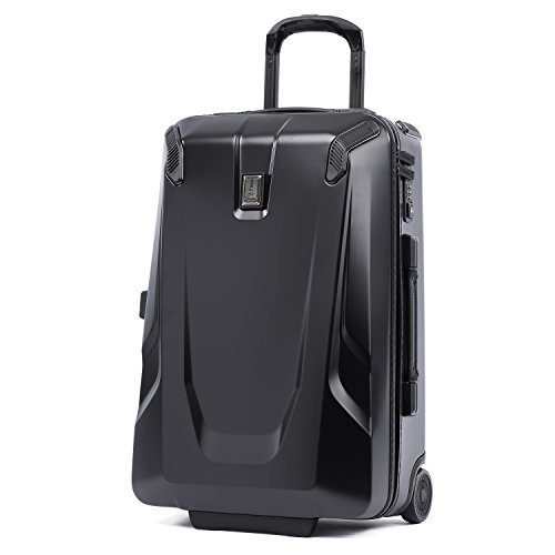 Travelpro Crew 11-Hardside Upright Luggage, Obsidian Black, Carry-On 22-Inch