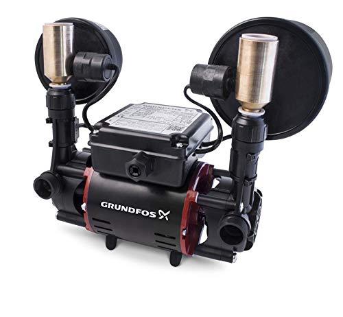 Grundfos STR2-2.0 CN 2.0 Bar Niagara Negative Head Twin Impeller Shower Pump