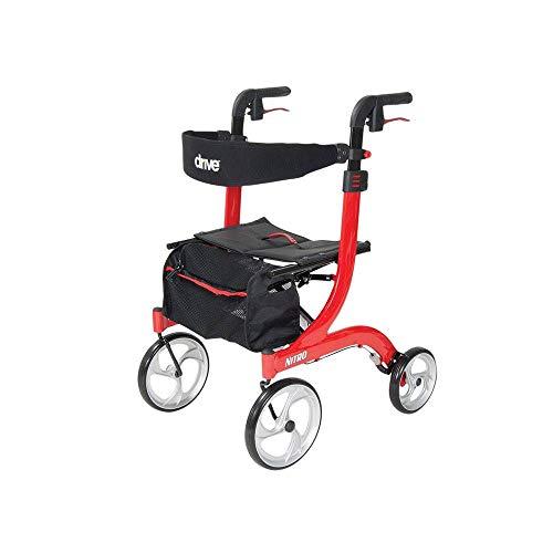 Drive Medical Nitro Euro Style Tall Rollator Walker