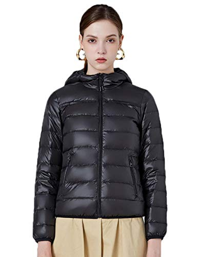 N / A The Herren Damen Jacke Daunen Jacke Winter Outdoor Down Jacket Winddicht Face Funktionsjacke Warme Parka Weste Vest FaceBaumwolle Mantel Steppjacke-Black_4XL