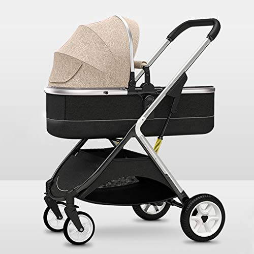 Strr kinderwagen, licht, reissysteem voor joggen, lange afstand, met grote mand, opvouwbaar, voor reizen voor kinderen, voor jongens en pasgeborenen