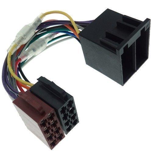 ISO Stecker Zündung + Dauer Plus Umsteckbar Memory Speicher Adapter Kabel Radio