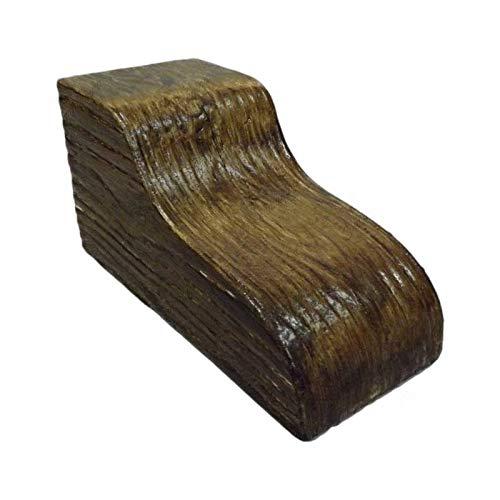 Ménsula para Vigas Decorativas imitación Madera (10 Alto x 10 Ancho x 20 Largo) Nogal Claro - DECORMÁGINA