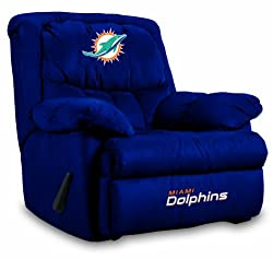 NFL Miami Dolphins Home Team Microfiber Recliner