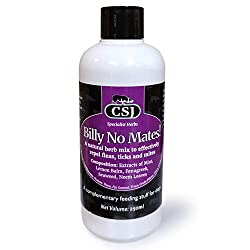 This totally natural product is a proven, very effective, flea, mite and tick repellent. This tincture of mint, seaweed, fenugreek, neem leaves and lemon balm should be simply be added to your dog - or cat's food or drink. As well as repelling 'board...