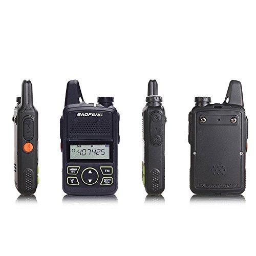 Original BAOFENG BF-T1 MINI Walkie Talkie UHF 400-470mhz Portable Two Way Radio...