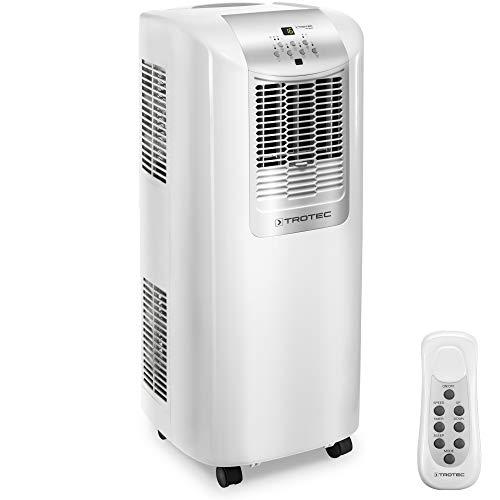 TROTEC PAC 2010 X - Condizionatore d'aria locale, Display a LED, Funzione timer, 2,1 kW/7.200 Btu, Bianco