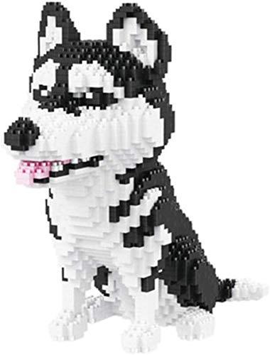 Lindas Dibujos Animados Perros Modelo De Construcción Bloques De Bricolaje Kits De Juguete Micro Ladrillos Juguetes De Educación para Niños Regalos,Corgi