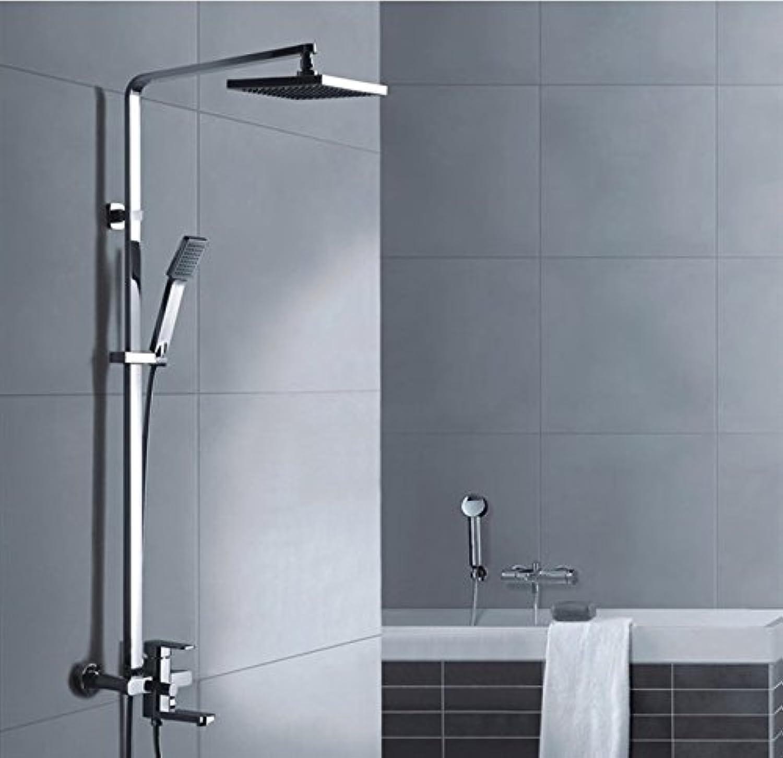 GM Copper lifting shower shower stalls set square