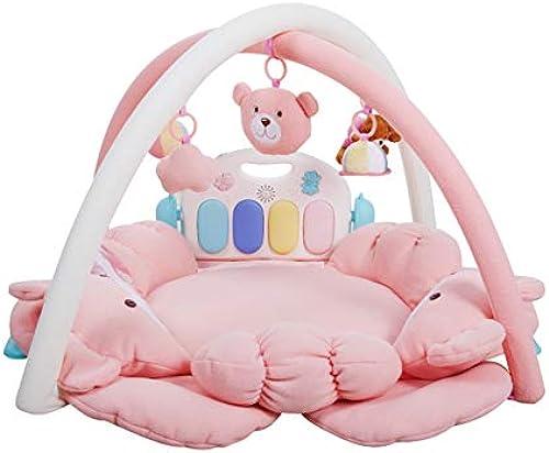 Thole Baby Musik Spielmatte Krabbeldecke Gym Mit Fernbedienung Krabbeldecke Geeignet für 0-36 Monate