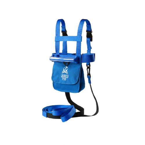 Ski Trainer Harness with Shock Absorb Leashes