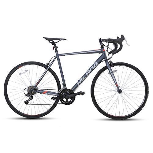 Hiland Road Bike 700C Racing Bicycle   Amazon