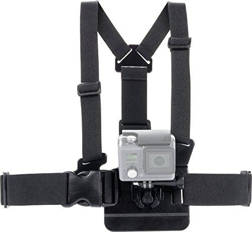 Speedlink Chest Strap für GoPro - Zubehör für Action-Cams - Verstellbare Action-Cam-Brustgurthalterung, Abnehmbare Kamera-Halterung, schwarz