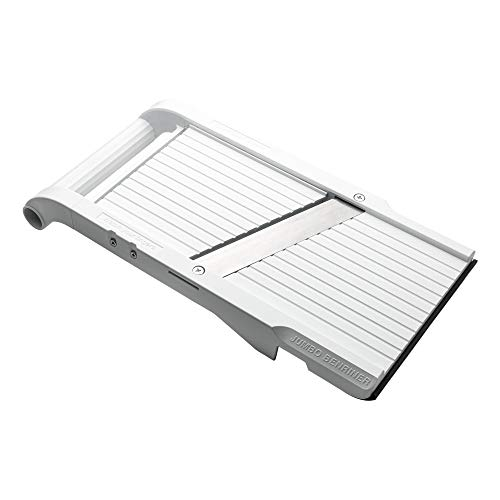 Benriner Mandoline Jumbo Slicer, Japanese Stainless Steel Blade, BPA Free, 13 x 6.5-Inches, New Model