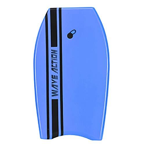 """AMAIRS Bodyboard, 33"""" Tabla De Bodyboard De Esquí Acuático Niños Adultos Tabla De Natación Tabla De Surf Liviana EPS Body Water Activities Body Board,Azul"""
