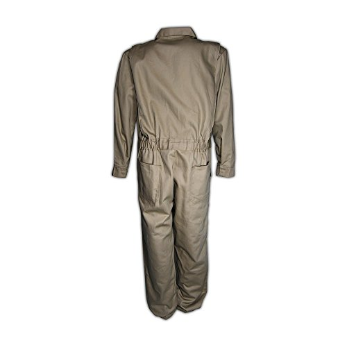 Magid Safety 3540KHM A.R.C. NFPA 70E Standard Coveralls, Medium, Khaki