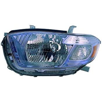 OE Replacement Headlight TOYOTA HIGHLANDER 2008-2010 Partslink TO2502177