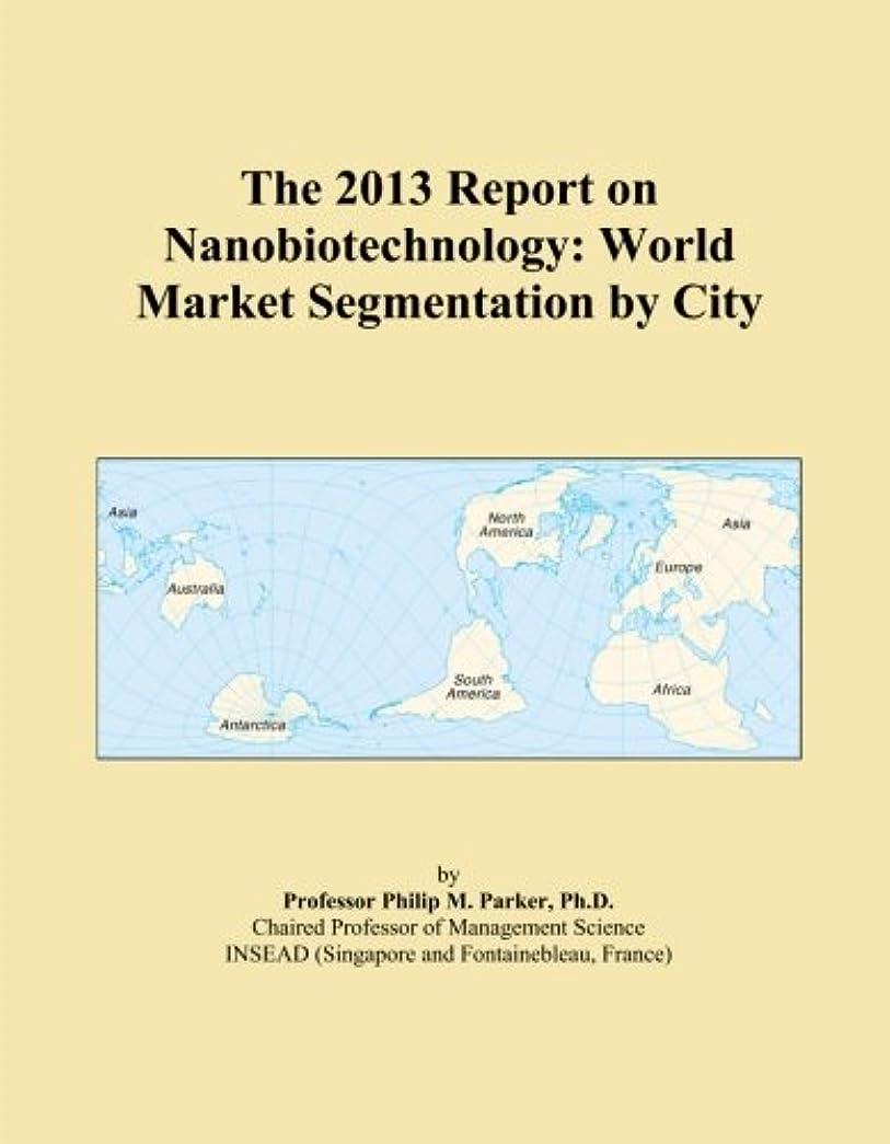 意欲冬パラシュートThe 2013 Report on Nanobiotechnology: World Market Segmentation by City